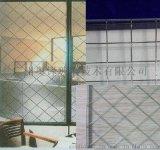 广州奥锋安全防爆夹丝玻璃7MM钢丝夹丝防火玻璃