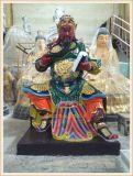 z27武财神关公铜像,玻璃钢关公佛像,关帝神像厂家
