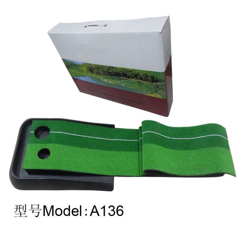 高尔夫双洞推杆练习器