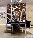 珠海雕花板定製現代風格背景牆邊框裝飾通花板雕花板
