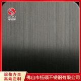 黑钛拉丝不锈钢图片_201不锈钢黄古铜拉丝板