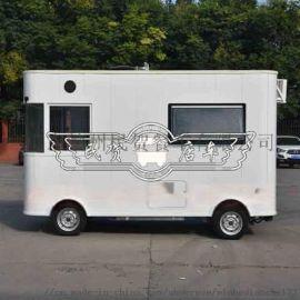 电动餐车,多功能流动摆摊移动快餐早餐四轮小吃车