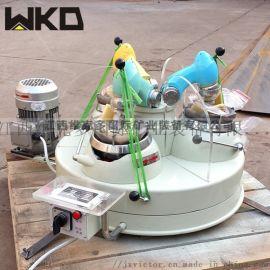 实验室三头研磨机的使用 三头研磨机的安装方法
