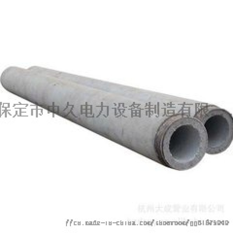天津水泥电杆190-12米非预应力水泥电线杆