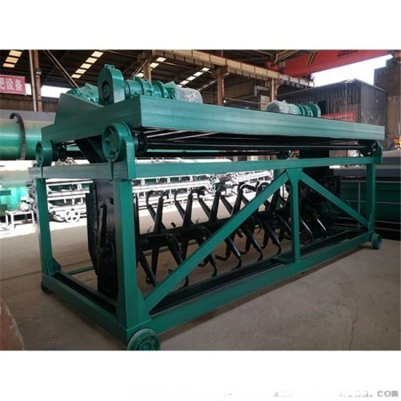 鸡粪有机肥生产线 羊粪有机肥生产设备 年产5万吨发酵技术