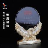 雛鷹展翅 廣州陶瓷獎盃獎牌 慈善水晶獎牌