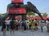 机械大象租赁 机械大象全国巡游