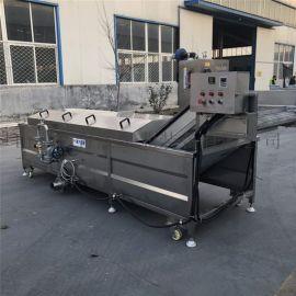 鸡翅连续式漂烫预煮机 全自动漂烫蒸煮流水线