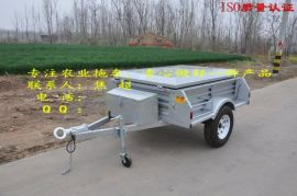 汽车小拖车 野营携带炊具使用 是露营拖车选择 旅居挂车的