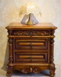 厂家直销欧式床头柜实木床头柜储物柜