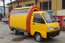 潍州电动小卡式餐饮车 移动早餐车流动小吃车 功能齐全 接受定制 厂家直销