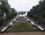 不鏽鋼滑梯的設計要求及工藝介紹-深圳騎牛人遊樂設備