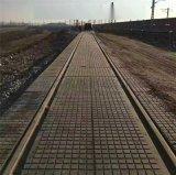 p60型橡膠道口板廠家 高鐵減速帶橡膠道口板