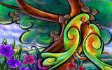 郑州专业文化墙体手绘彩绘