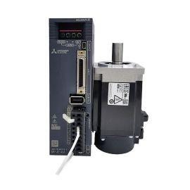 三菱伺服驱动器电机套装HF-KN43J-S100+MR-JE-40A 包装测试飞针机