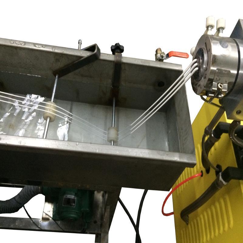 小型实验室双螺杆挤出机 塑料小型螺杆挤出机