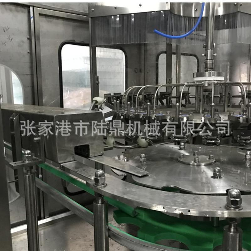 玻璃含氣飲料生產線 飲料機械