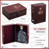 FSS5809R1高档仿皮酒盒 ,单支装酒包装,酒盒