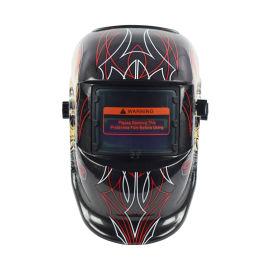 自动变光焊帽面罩氩弧焊气保焊防护专用全脸部轻便面罩