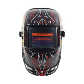 自動變光焊帽面罩氬弧焊氣保焊防護專用全臉部輕便面罩