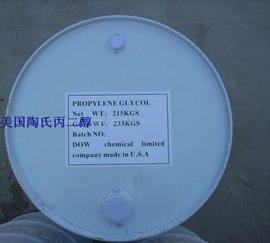 进口美国陶氏散水工业级1.2丙二醇白色油漆桶包装