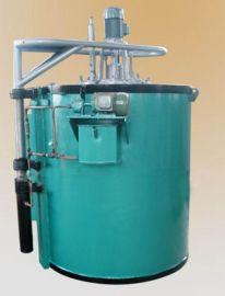井式气体渗碳炉 无烟型炭化炉