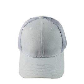 夏季新款空白网帽 户外防晒棒球网 女士休闲网帽定做厂家