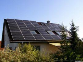 太阳能10kw家用供电分布式光伏发电系统 河南太阳能厂家 郑州太阳能光伏发电项目