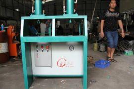 广东佛山海拓自动化YJ-2-1锌钢护栏新型自动定位液压冲床,锌钢护栏自动定位冲孔机,护栏管材打孔机厂家直销