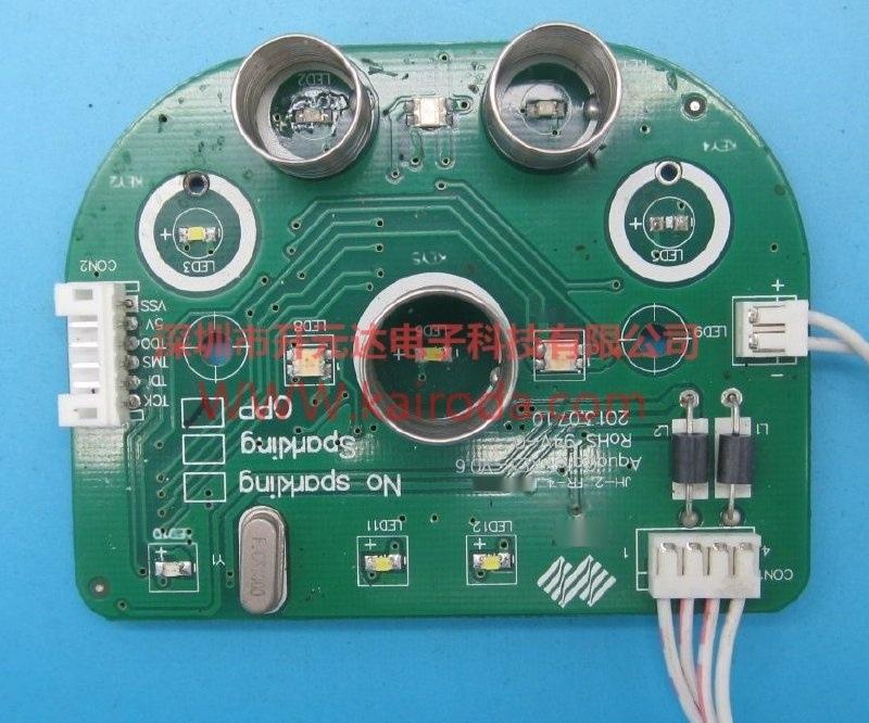 全自动触摸智能饮水机控制板电路板PCB线路板开发设计