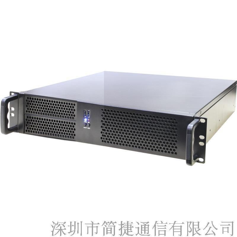简捷网间结算语音IVR系统8E1支持PRI和7号信令240路通话放音统计