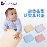嬰兒記憶海綿枕頭 防偏頭定型枕 慢回彈記憶海綿枕枕芯 貼牌加工