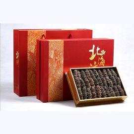 汕头印刷厂家供应进口淡干海参礼盒 设计生产南美海参500g包装盒