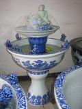 高档陶瓷喷泉 景德镇陶瓷厂家生产陶瓷喷泉