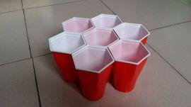 一次性双色杯/聚会杯/六角杯