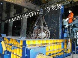 大型全自动遥控5000废钢打包机,废旧钢铁打包机厂家