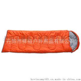 成人信封式睡袋 信封S绗3色 户外露营装备中空棉睡袋 新品批发