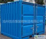 信合2017全新鋼製固定式20英尺標準集裝箱