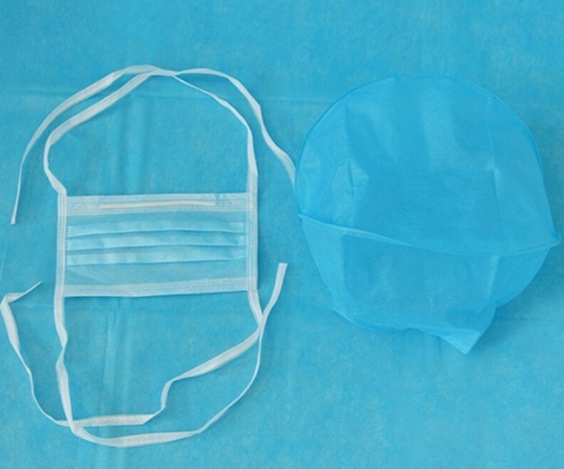 【康民】医用口罩帽(套)︱一次性口罩帽(套)︱无纺布口罩帽(套)