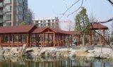 重庆防腐木长廊|QS4000景观长廊TC3000休闲长廊价格