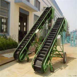袋装蔬菜用移动式输送机 滁州圆管橡胶移动式输送机