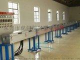 热销押出机碳纤维硅胶线挤出机厂家制作