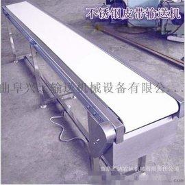 大量批发不锈钢爬坡皮带输送机 食品材质皮带机