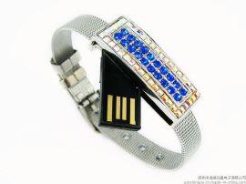 手环珠宝u盘 个性usb 创意水晶u盘定制