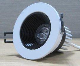 深圳LED照明厂家批发酒店装潢专用7W高光效LED天花灯
