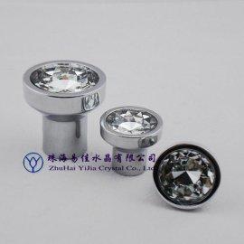 水晶抽屉把手,玻璃拉手(512B-21D-XDL)