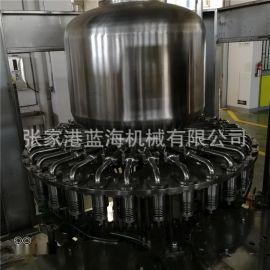 全自动玻璃瓶果汁饮料小型液体灌装生产线设备 压榨汁灌装机