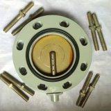 源头直供电力变压器散热片用钢板硬密封蝶阀八孔安装圆型各规格