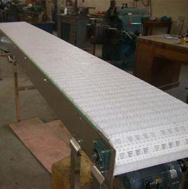 网带链输送线定做 平格柔性板链输送机 钢塑链板运输机 网带链传送机厂家直销