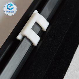 供应三菱汽车外挡水条全套PVC水切条植绒密封条挡风玻璃密封条